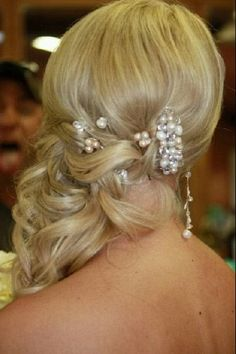 Wedding Hair with Extensions by: Lindsey Reed