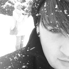 It's snowing in Kazakhstan!! ❤️