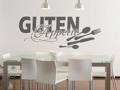 Wandsticker für den Essbereich: Guten Appetit
