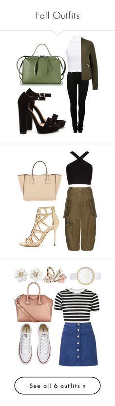 """""""Fall Outfits"""" by maeaballroomprincess ❤ liked on Polyvore featuring MM6 Maison Margiela, WearAll, Jil Sander, River Island, Moreau, BCBGMAXAZRIA, Marc Jacobs, Sergio Rossi, Witchery and Topshop"""