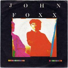 "John Foxx - Underpass, 7"" vinyl single, Virgin, Ultravox, synth pop, c.1980 #vinyl"