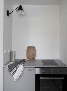 small kitchen nook, by Minna Jones