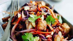 Hyvän ja täyttävän wokin voi tehdä myös ilman nuudeleita.