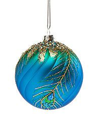 Home Accents® All That Glitters Peacock Ball Ornament Peacock Christmas Tree, Peacock Ornaments, Beaded Christmas Ornaments, Painted Ornaments, Christmas Colors, All Things Christmas, Christmas Themes, Christmas Holidays, Christmas Crafts