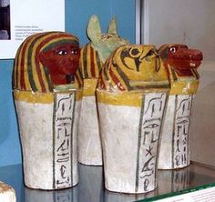 wikiHow to Design and Make a Canopic Jar -- via wikiHow.com. For Tamahere's Egypt project.