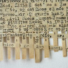 Art journal page with paper weaving- woven words - Elena Nuez Mixed Media Collage, Collage Art, Mixed Media Journal, Word Collage, Collage Ideas, Altered Books, Altered Art, Book Crafts, Paper Crafts