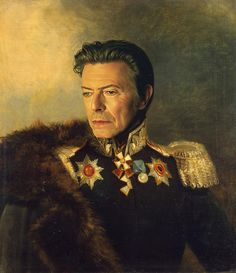 David Bowie - replaceface