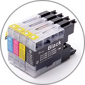 Compatible Brother Inkjet Cartridges are offered at significant savings as compared to the originals, same quality and page yield outputs. Buy generic Brother inks and save more. Printer Ink Cartridges, Inkjet Printer, Brother Drucker, Cheap Ink, Buy Cheap, Brother Mfc, Brother Printers, Lg G5