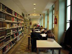 Biblioteca Flaminia: Sala lettura