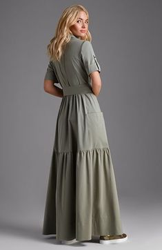 17 ideas dress hijab casual long skirts for 2019 Trendy Dresses, Nice Dresses, Casual Dresses, Casual Outfits, Casual Shirts, Maxi Skirt Outfits, Dress Skirt, Maxi Skirts, Maxi Dresses
