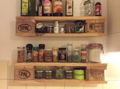 DIY, Upcycling, plastikfrei, zero waste: Gewürzregale aus Paletten, wo bekomme ich Gewürze mit wenig Verpackungsmüll