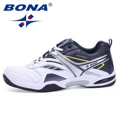 10e56e765eb3 BONA New Classics Style Men Tennis Shoes Lace Up Men Sport Shoes Top  Quality Comfortable Male Sneakers Shoes Fast Free Shipping