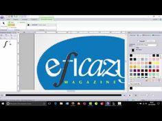 PE DESIGN NEXT 10 - Desenhando Logotipo em matriz. - YouTube