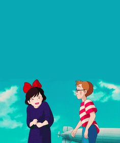 Kiki's Delivery Service :) ( is it weird that they're like one of my OTP's)
