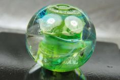 Into the Fire Lampwork Art Beads ~Enraptured~ Artist handmade glass focal bead