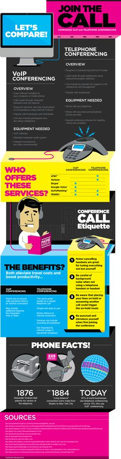 Join The Conference Call Infographic!