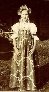 Russian maiden in traditional costume. Old photo Folk Costume, Girl Costumes, Film Dance, Russian Folk, Imperial Russia, My Heritage, Historical Costume, Photo Archive, Capital City
