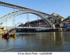Ponte D. Luís. Porto, Portugal