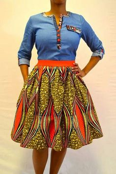 Awesome latest african fashion look . African Inspired Fashion, African Dresses For Women, African Print Fashion, Africa Fashion, African Attire, African Wear, African Fashion Dresses, African Style, African Women
