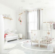 Baby nursery decor ideas - Ideas de decoración para la habitación del bebé - Dormitorio Infantil