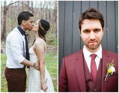 Marsala Wedding Decor | Friday Five - Wedding Ideas Marsala Pantone Colour Of The Year 2015 ...