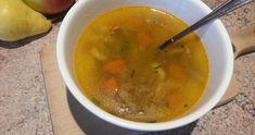 Zeleninová polievka s hlivou- dokonalá vitamínová bomba Thai Red Curry, Ethnic Recipes, Food, Red Peppers, Essen, Meals, Yemek, Eten