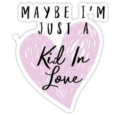 Shawn Mendes - Kid In Love Sticker