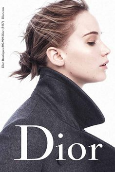 Jennifer Lawrence Peers Deep Into Your Soul For Miss Dior #refinery29