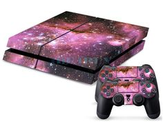 Cool Star Custom Skins for Playstation 4 PS4 Console + 2 Controller Stickers