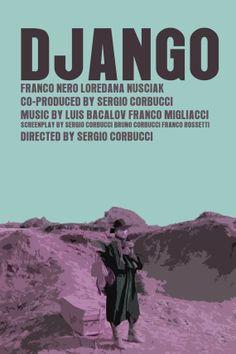 Spaghetti Western Movie Poster Set Django / Giù La Q. Tarantinos original inspiration.