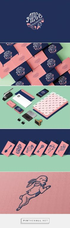 Alice Branding by Dori Novotny | Fivestar Branding – Design and Branding Agency & Inspiration Gallery: