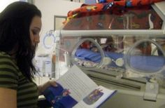 Read and talk quietly to your NICU baby...your voice is familiar. Bonding with your Fragile Infant in the NICU
