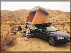Volvo Station Wagon, Volvo Wagon, Volvo Xc, Small Campers, Roof Top Tent, Campervan, Van Life, Cool Cars, Dream Cars