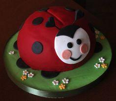 Funny ladybird  Cake by luna