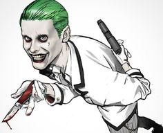 Suicide Squad Joker by Tiago Datrinti