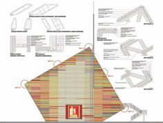 Image 18 of 24 from gallery of Renzo Piano Designs a Flat-Pack Auditorium for L'Aquila. Photograph by Renzo Piano Building Workshop Renzo Piano, Architecture Drawings, Architecture Details, Modern Architecture, Architecture Illustrations, Architecture Models, Study Room Design, Roof Detail, Famous Architects