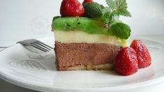 Fotorecept: Nepečený čoko-kiwi zákusok Kiwi, Cheesecakes, Rum, Pudding, Sweets, Baking, Recipes, Projects, Log Projects