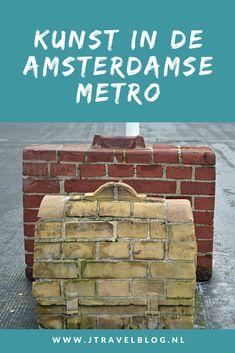 Tijdens een dagje Amsterdam maakte ik vele tochtjes met de metro om de kunst op de perrons van de Noord-Zuidlijn en de lijnen 53 en 54 vast te leggen. Lees en kijk mee welke kunstwerken er op de perrons en in de stations te zien zijn. #metro #amsterdam #kunst #noordzuidlijn #jtravel #jtravelblog