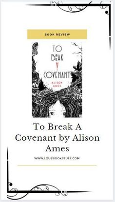 Check out my review for To Break A Covenant on my blog! A fast paced haunted town story with fantastic characters, brilliant writing and dialogue and a very creepy atmosphere. The perfect read for spooky season!