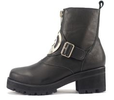 Tilted Sole - UNIF: Dont Worry Be Happy Black, $180.00 (http://www.tiltedsole.com/unif-dont-worry-be-happy-black/)