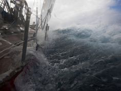 Monstrous seas in Drake's Passage