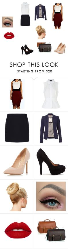"""""""new character for new wattpad story"""" by alannahzoe on Polyvore featuring Alexander Wang, Balenciaga, Tommy Hilfiger, Dorothy Perkins and Lime Crime"""