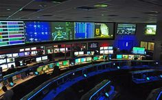 Nasa's mission control centre, JPL