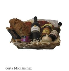 Cesta Montánchez Productos gourmet de Extremadura