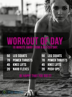 Workout of day : 10 Minuts Workout of day. #health #fitness #slim #tips #weigh #abs #workouts #exercise