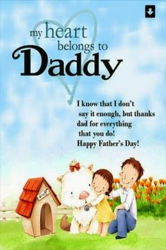 Fathers Day Wishes Quotes for your Dad from son Daughter Wife Friend