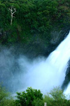 Shivasamudram Falls in Karnataka India Travel Guide, Asia Travel, Places Around The World, Around The Worlds, India Country, Asia Continent, Small Planet, Karnataka, Nature Images