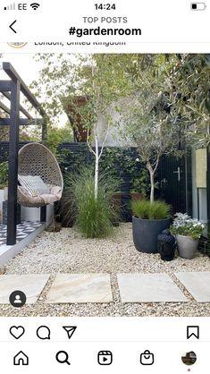 Back Gardens, Small Gardens, Outdoor Gardens, Backyard Plants, Small Backyard Patio, Balinese Garden, Meditation Garden, London Garden, Small Garden Design