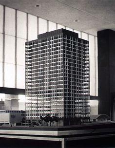 Mile High Center original model (I.M. Pei)