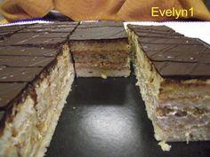 Kávovo orechový rez Eastern European Recipes, Coffee Cake, Nutella, Sweet Tooth, Paleo, Cooking, Desserts, Food, Teeth